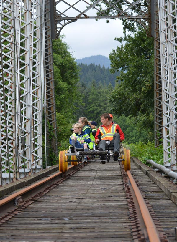 Tillamook Coast Railriding