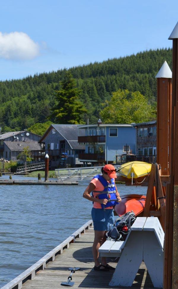 Tillamook Coast Kayaking Wheeler