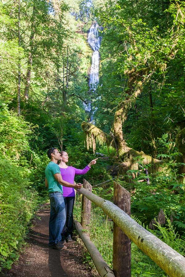 Munson Creek Waterfall Hiking Trail