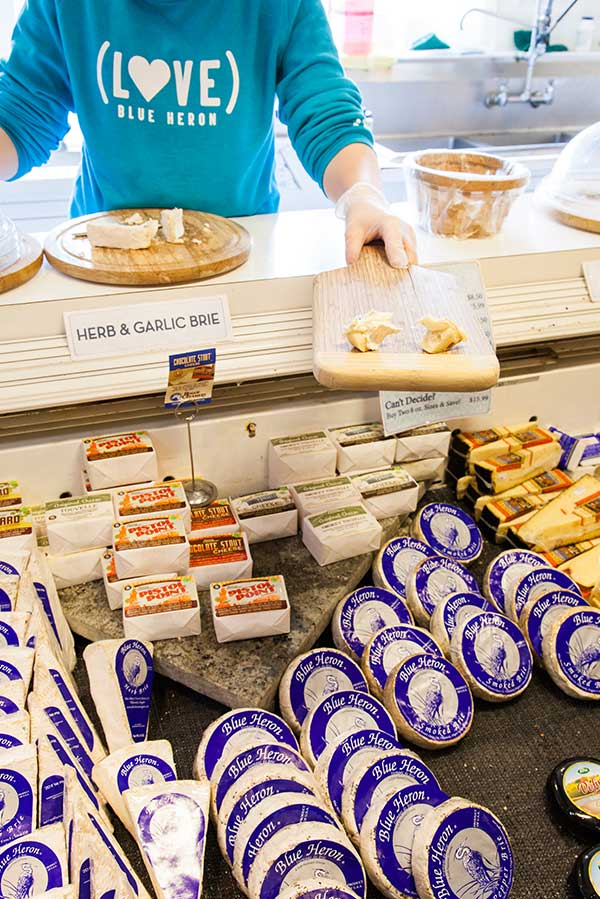 Tillamook County Blue Heron Cheese Brie