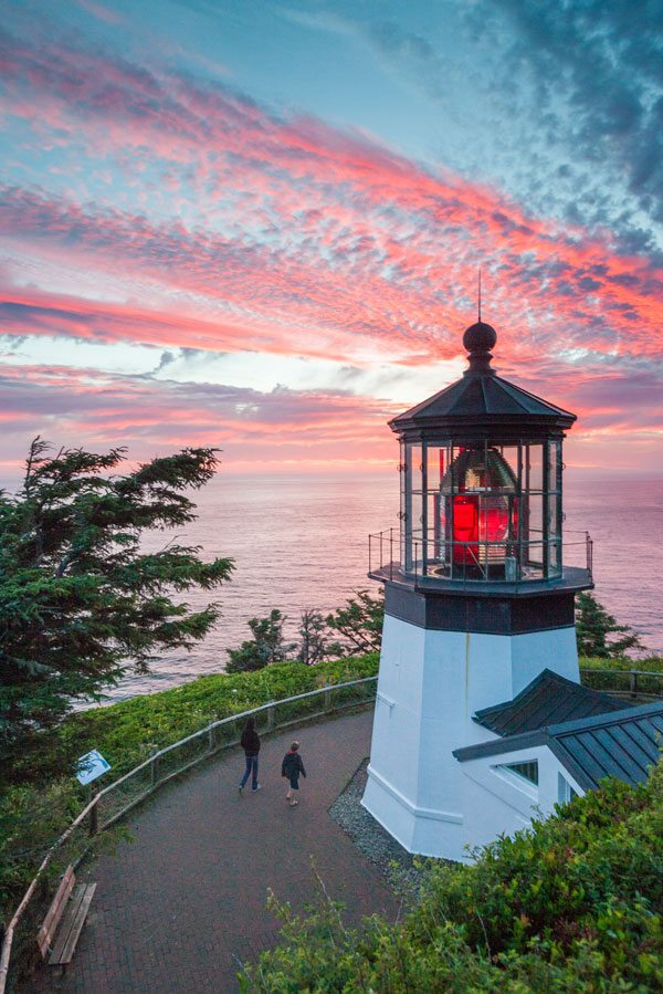 Cape Meares Or Hike Cape Meares State Park