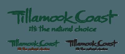 Tillamook Coast Logo Tagline Wordmark