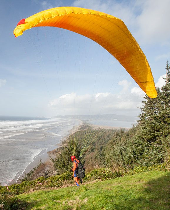 Tillamook County Cape Lookout Paraglider