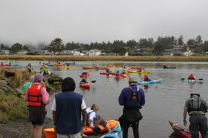 National Recreation Trail dedication day Nestucca Bay