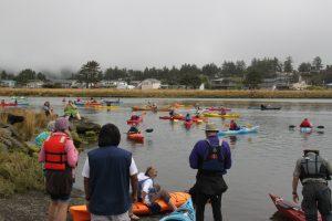 National Recreation Trail dedication day Nestucca Bay