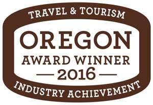 Oregon Travel and Tourism Award Winner