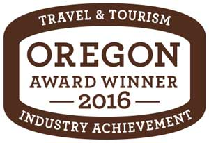 Oregon Travel and Tourism Award Winner