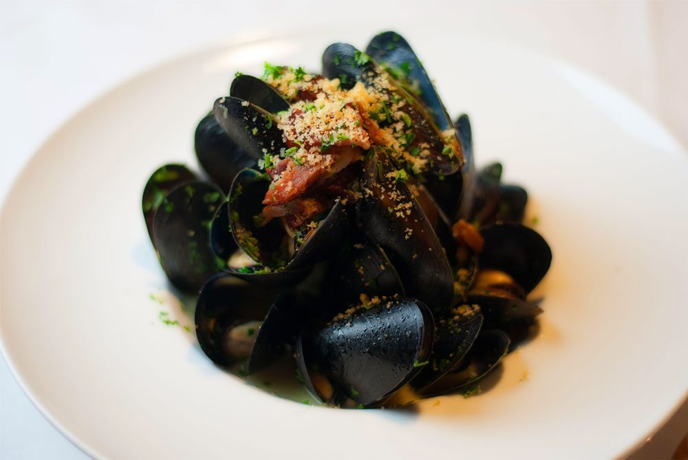 Mussels at Pacific Restaurant