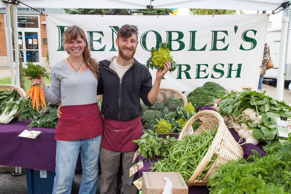 Denoble Farms fresh produce