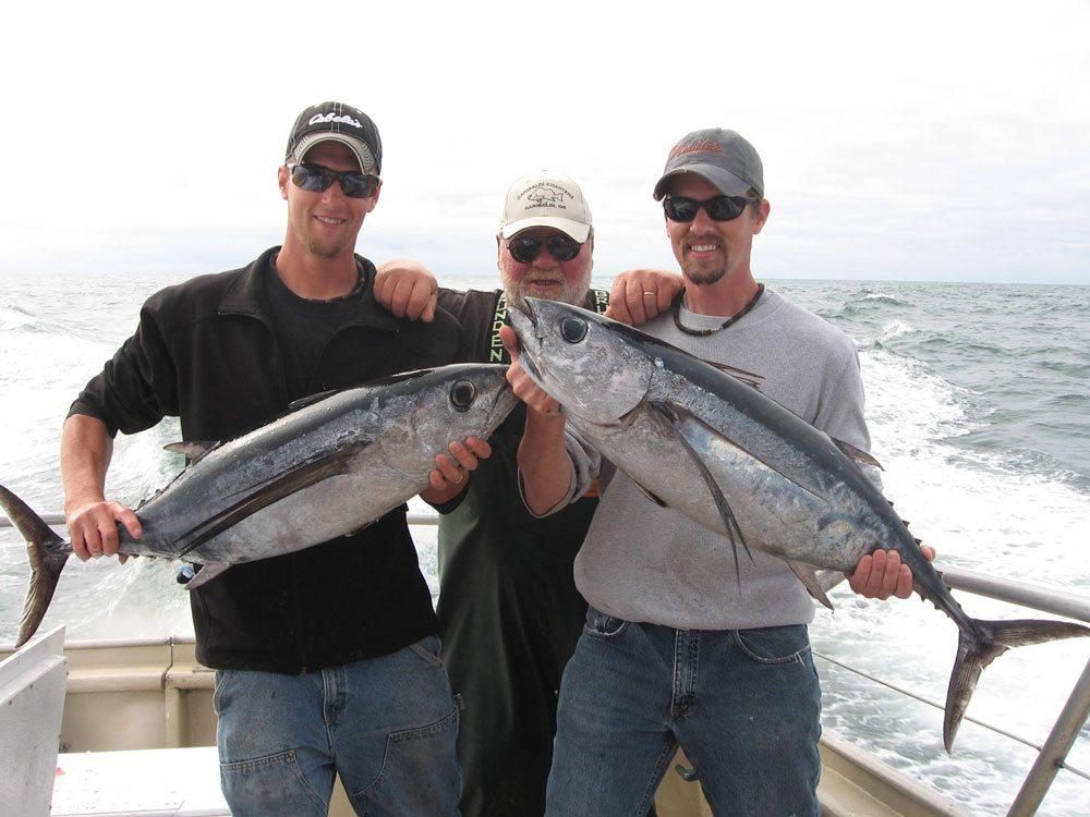 Tuna - Photo Courtesy of Garibaldi Charters