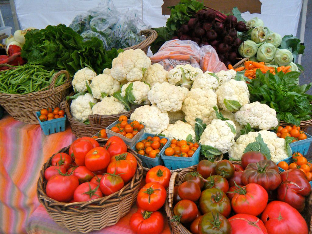 Fresh Vegetables - Photo Courtesy of Carolina Lees