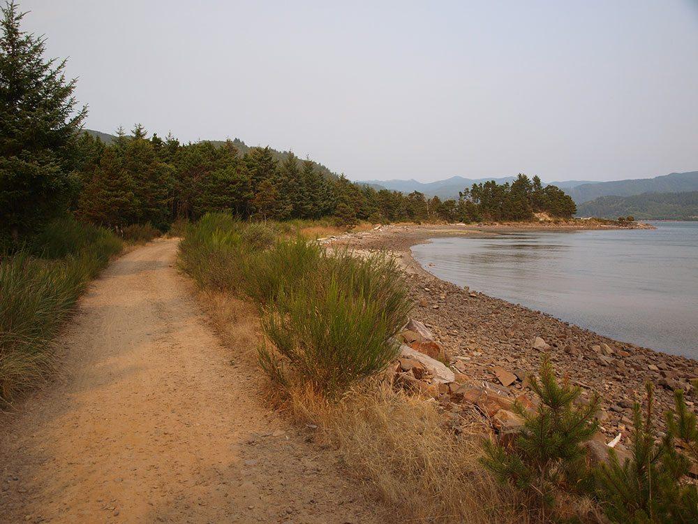 Tillamook Coast Bay Bayocean Spit