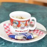 Chowder in a cute mug