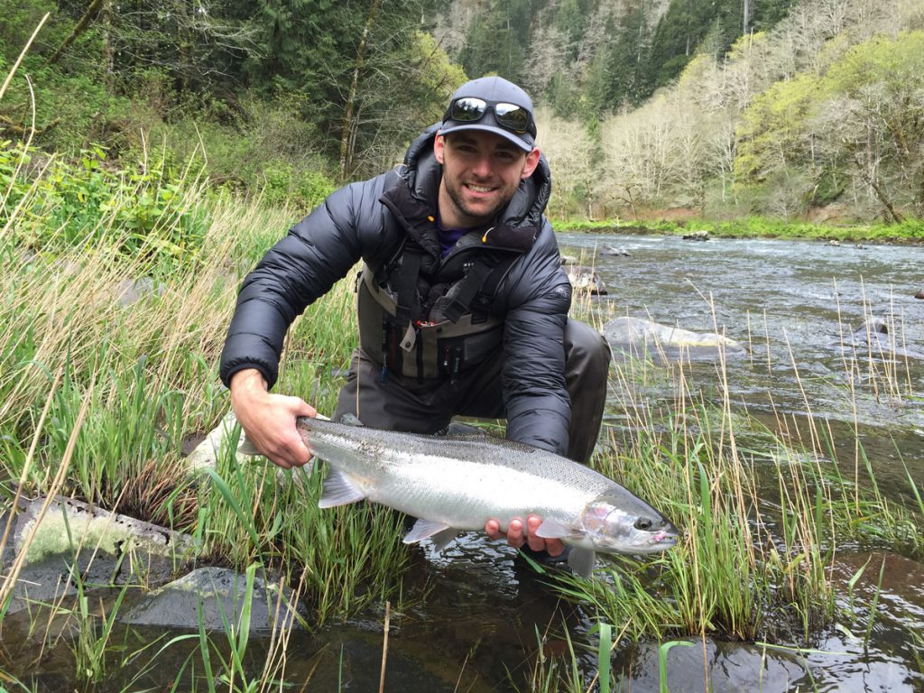 Brian Fawcett Nehalem River winter steelhead
