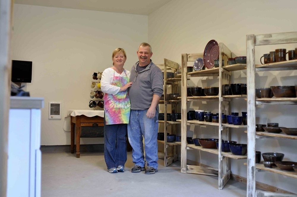The Toths turned a pottery hobby into a thriving business