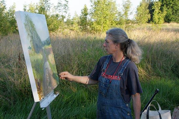 Artists at the Oregon Coast