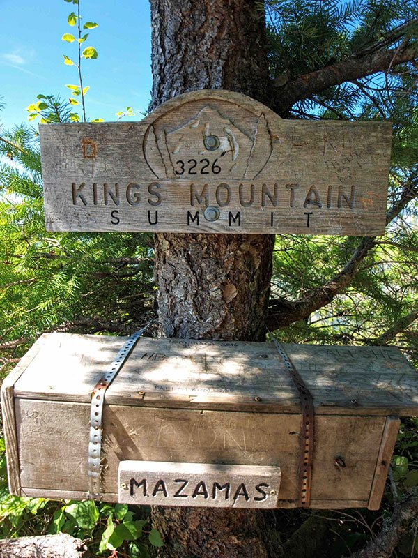 King's Mountain Summit