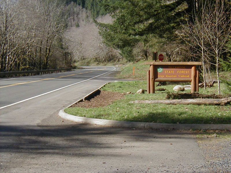 Kings Mountain Trail Highway 6