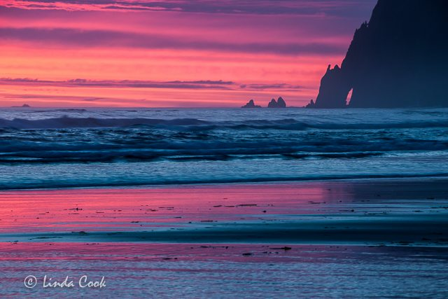 Tillamook Coast Sunset
