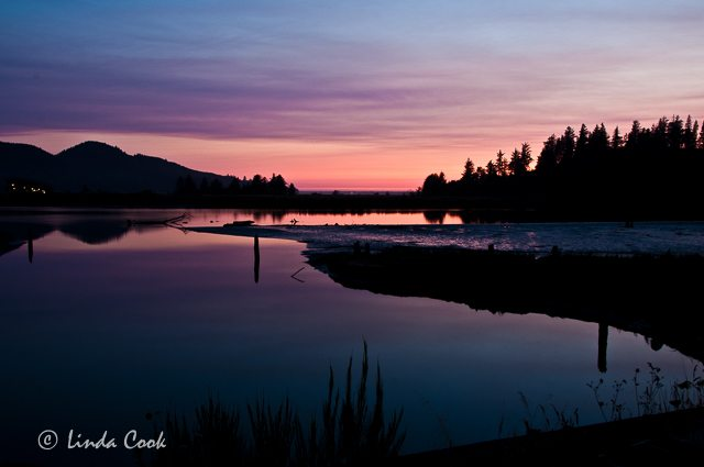 Tillamook Coast Sunset