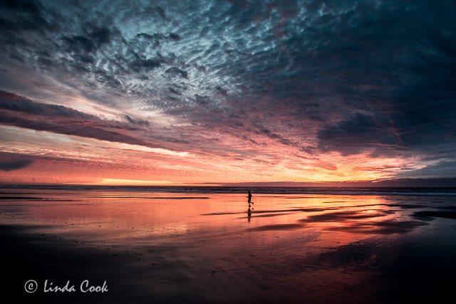 Tillamook Coast Oregon Sunset