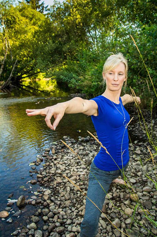 Yoga at Nehalem River