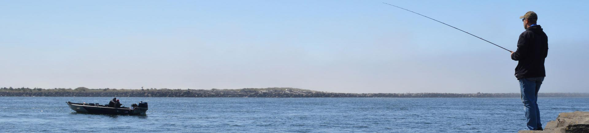 River bay deep sea fishing on oregon coast tillamook for Deep sea fishing oregon coast