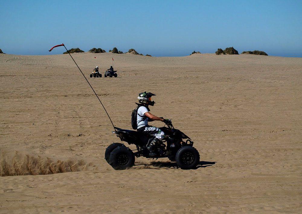 ATV Riding at Sand Lake