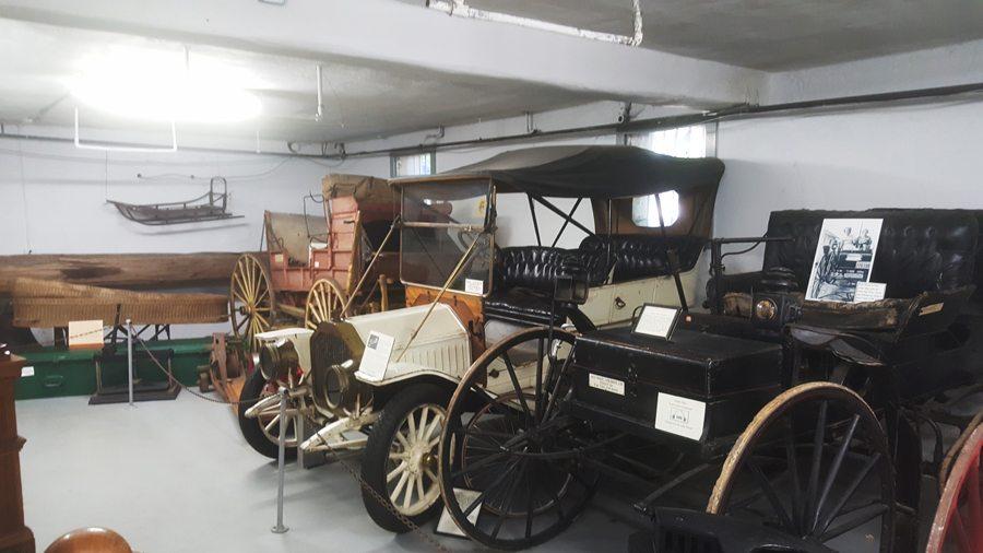 illamook County Pioneer Museum Cars