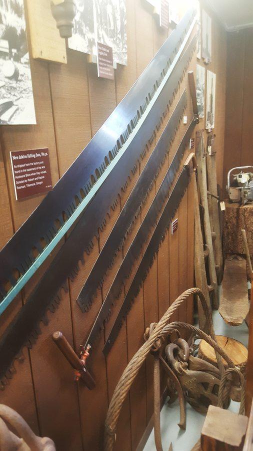 Tillamook County Pioneer Museum - Logging Exhibit