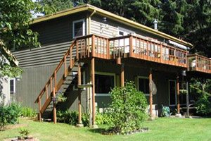 Outside view of Cape Lookout Bed & Breakfast