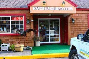 Outside of the Sun Dune Motel