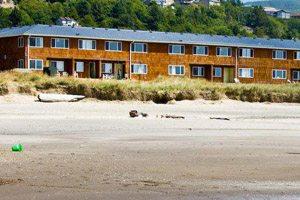 Motel off the beach