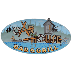 Oar House Bar & Grill sign