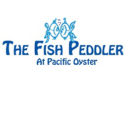 The Fish Peddler at Pacific Oyster logo