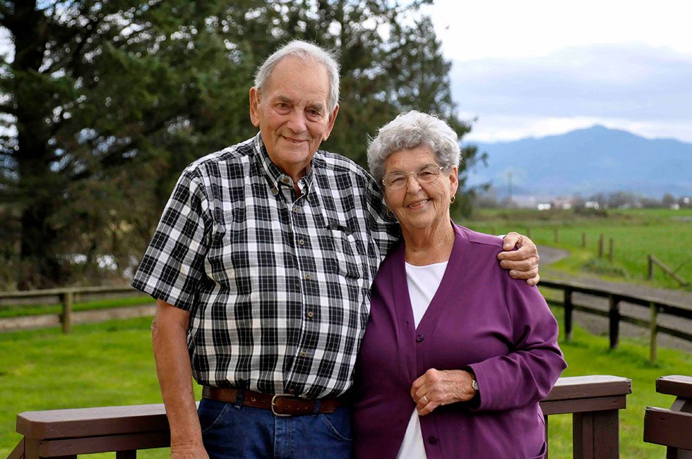 Rudy and Ruth Fenk