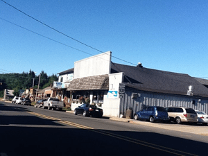 Street view of the Bayway Tavern