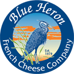 Blue Heron French Cheese Company logo