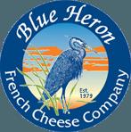 Blue Heron French Cheese Company logo