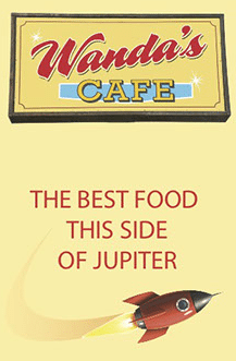 Wanda's Cafe - the best food this side of Jupiter