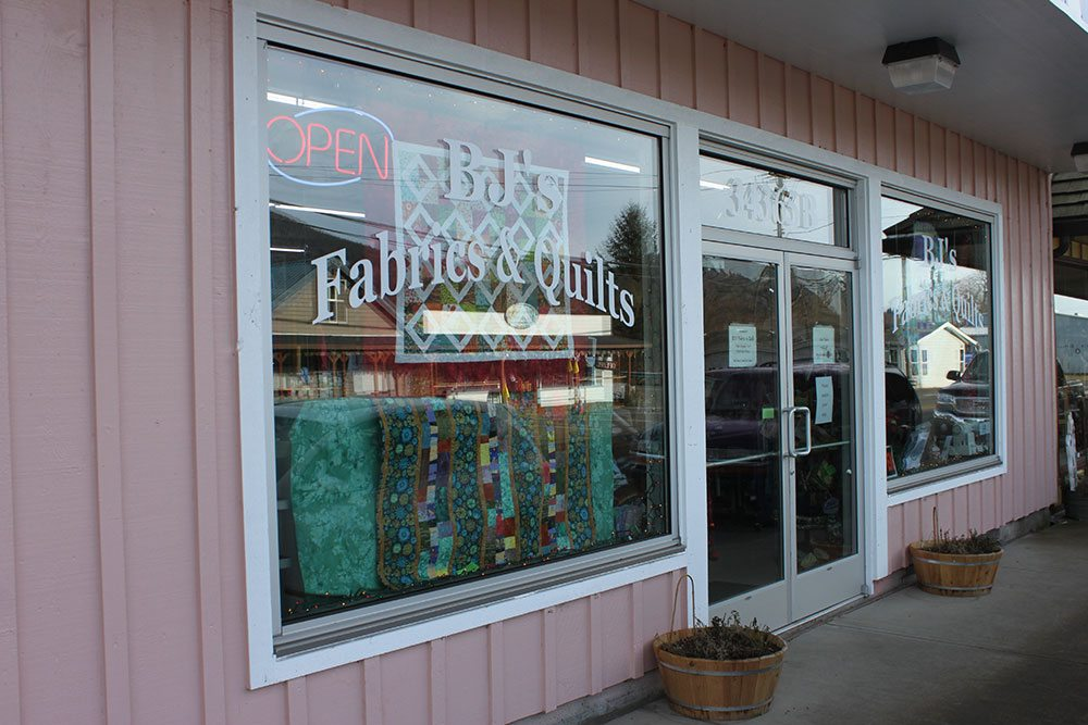 BJ's Fabric and Quilts Cloverdale