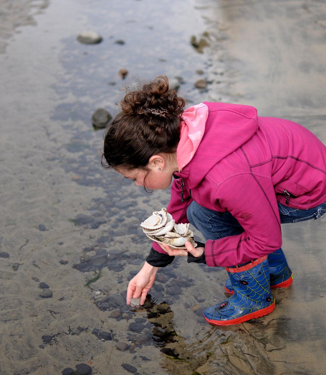 tidepools Oregon Coast