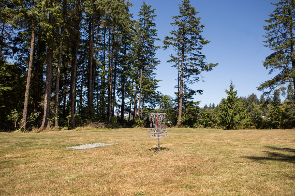 Sheltered Nook disc golf course