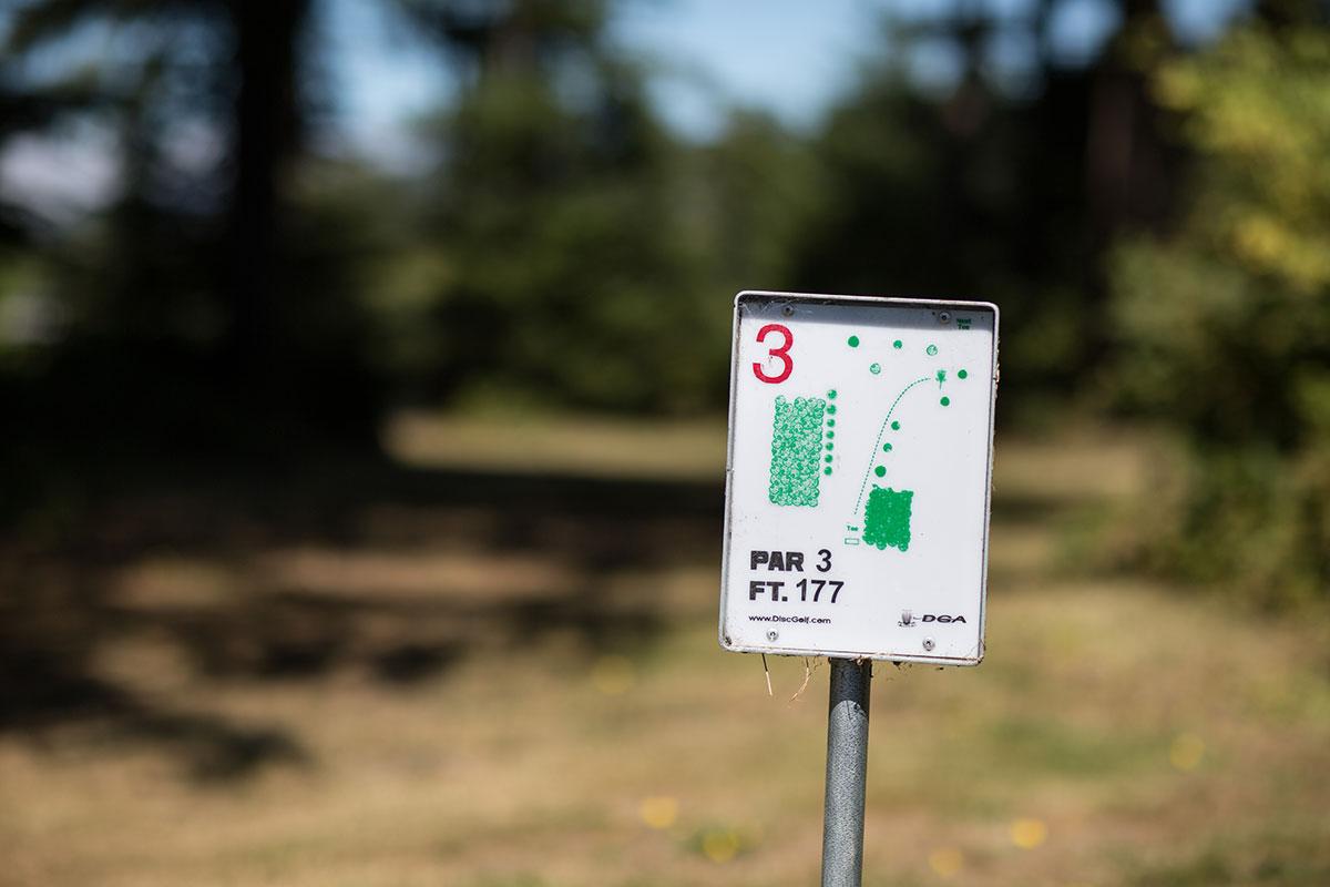 Disc golf Tillamook Coast