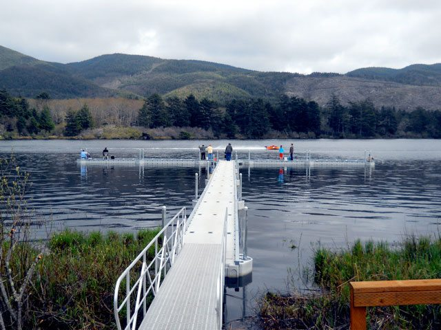 Lake Lytle ADA accessible dock