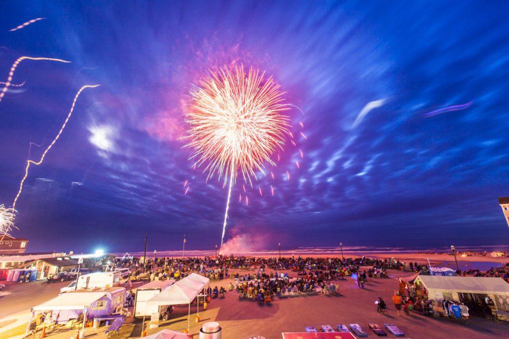 Rockaway Beach Fireworks