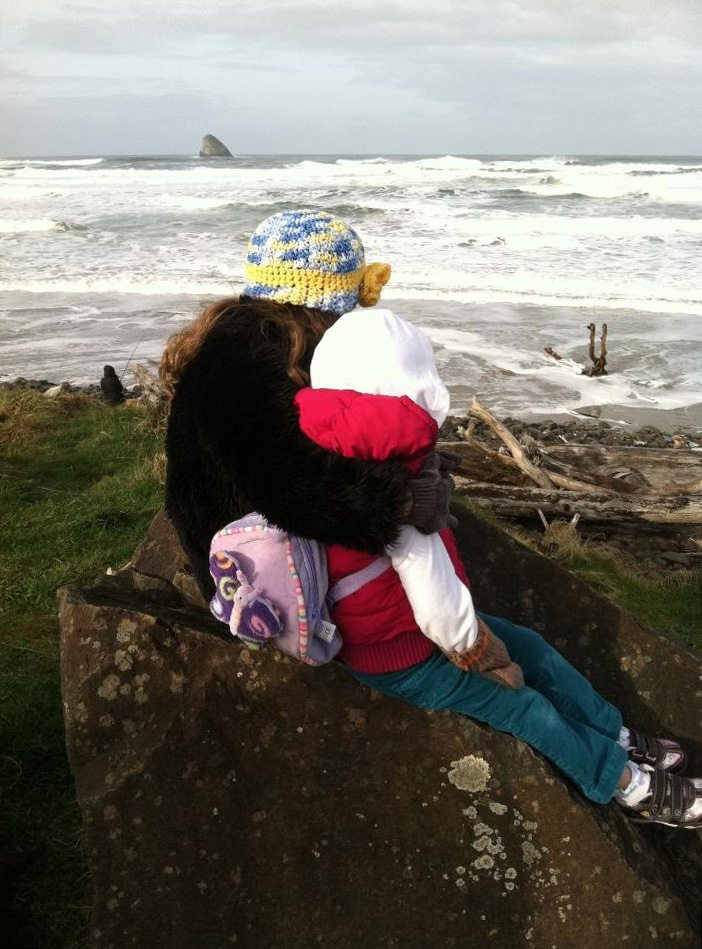 Watching high tide