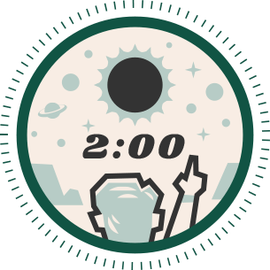 eclipse two minute duration