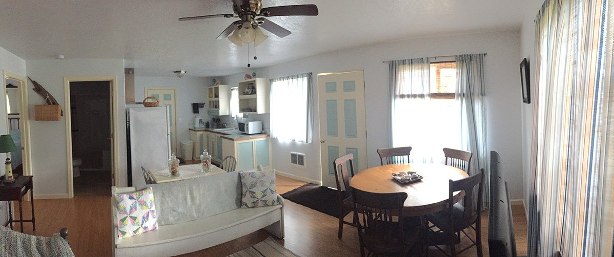 Becker's Cabin interior