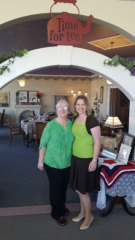 Glenda Tonski and Belinda Williams